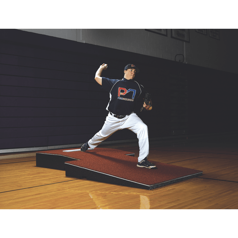 ProMounds Professional Two-Piece Portable Pitching Mound - Pitch Pro Direct