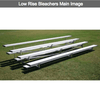 Image of 2 or 3 Rows Aluminum Preferred Bleachers - Pitch Pro Direct