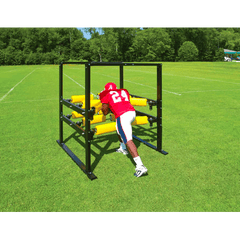 Fisher Football 12 Arm Power Blaster Machine