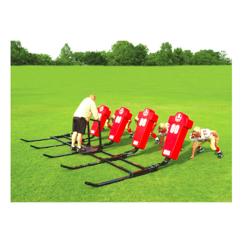 Fisher Brute 2 Youth Football Blocking Sled - 4 Man - Pitch Pro Direct