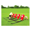 Image of Fisher Brute 2 Youth Football Blocking Sled - 4 Man - Pitch Pro Direct