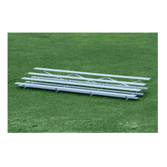 4 Row Low Rise Aluminum Bleachers