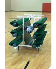 Bison Six Post Deluxe Volleyball Cart - Pitch Pro Direct