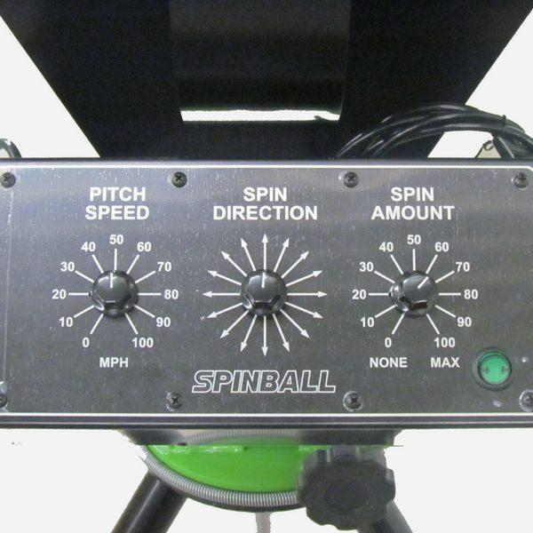 Spinball Wizard 3 Wheel Baseball Pitching Machine