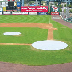Baseball Field Cover - Home Plate - Pitch Pro Direct