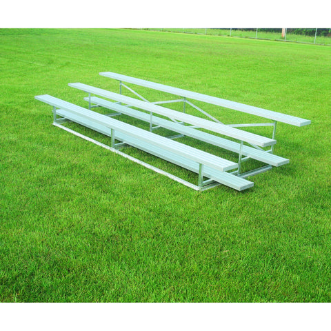 Bison Standard Aluminum Portable Outdoor Bleachers - Pitch Pro Direct