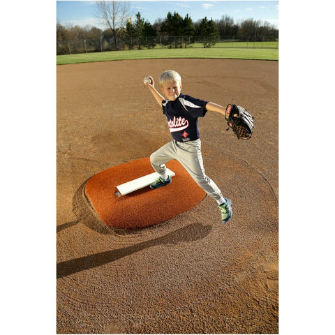 "PortoLite 4"" Stride Off Little League Portable Game Pitching Mound"