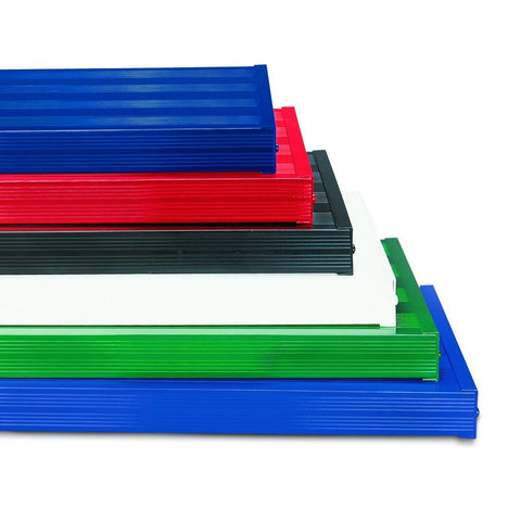 Bison Upgrade Clear Anodized Aluminum Planks to Powder Coated Color - Pitch Pro Direct
