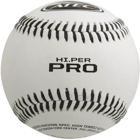 ATEC HI.PER PRO - Leather Flat Seam Baseball - Pitch Pro Direct