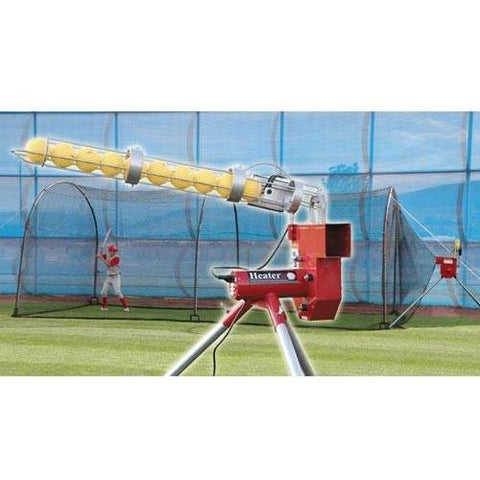Heater Baseball With Auto Ball Feeder & Xtender 24