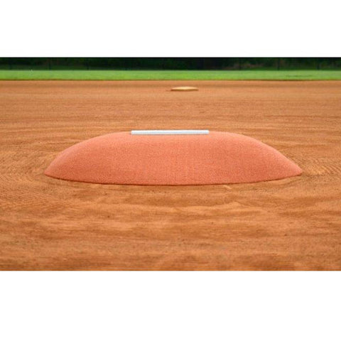 allstar mounds youth pitching mound #2 in clay front view