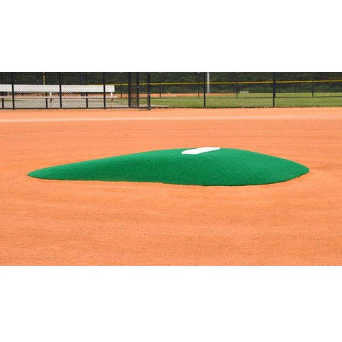 allstar mounds youth pitching mound #2 in green side view