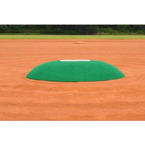 allstar mounds youth pitching mound #2 in green front low view