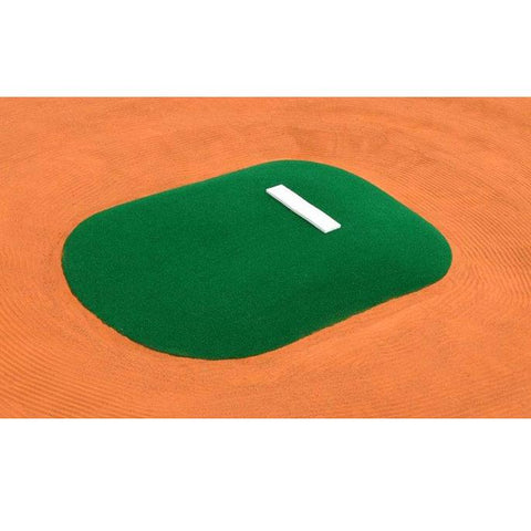 allstar mounds youth pitching mound in green top view