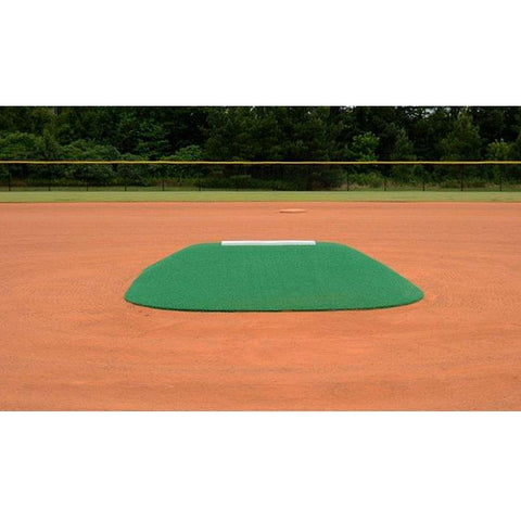 allstar mounds 12u pitching mound #3 in green front view