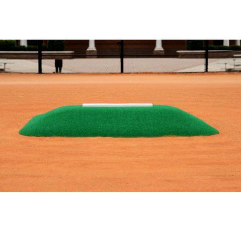 allstar mounds 12u pitching mound #3 in green close up
