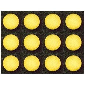 "BATA 12"" Yellow Dimpled Softballs Dozen Pack - Pitch Pro Direct"