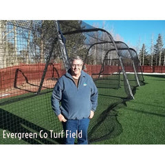 BATCO Indoor and Outdoor Foldable Batting Cage with Net
