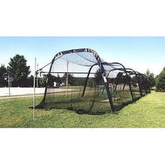 Collapsible and Portable Batting Cage with Net and Frame
