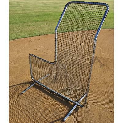 L-Screen For Baseball With Hood - Pitch Pro Direct