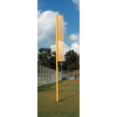 "JayPro Professional Foul Poles (3 1/2"" OD Poles) - Pitch Pro Direct"