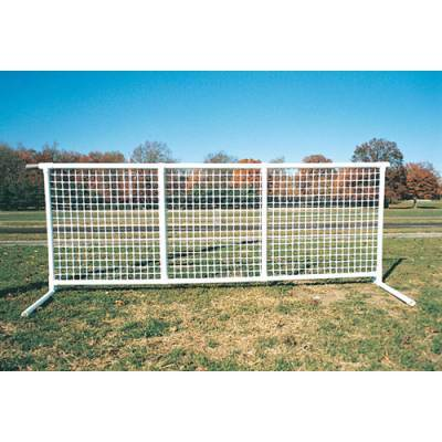 SportPanel® Fencing Black Mesh Fence Panel - Pitch Pro Direct