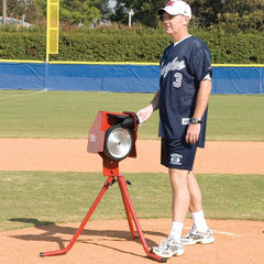 Bulldog Single Wheel Combo Pitching Machine For Baseball And Softball