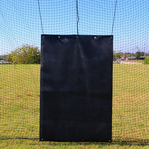 Cimarron Rubber Backstop Net Protector Front View
