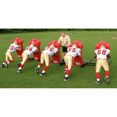 Fisher 3 Man Brute Football Blocking Sled - Pitch Pro Direct