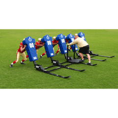 Fisher 6 Man Big Boomer Football Blocking Sled - Pitch Pro Direct