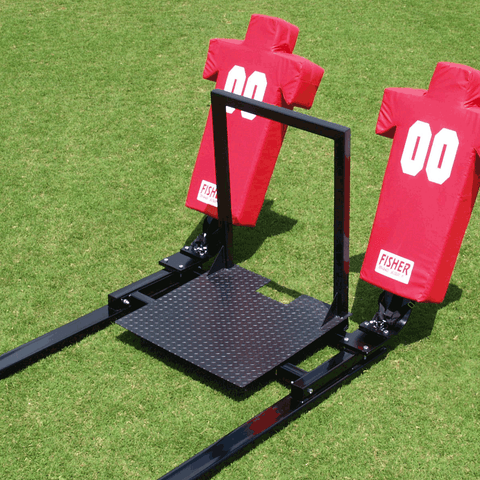 Fisher 5 Man Football Brute Blocking Sled - Pitch Pro Direct