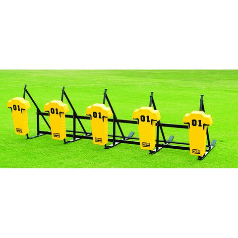 Fisher 6 Man CL Series Football Blocking Sled - Pitch Pro Direct
