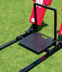 Fisher Coaches Platform For Big Boomer Football Blocking Sled