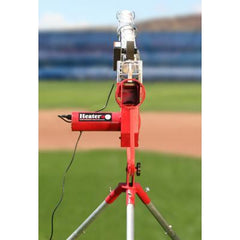 Heater Pro Real Curveball Pitching Machine With Auto Ballfeeder