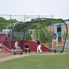 JayPro Grand Slam Portable Hitting Turtle Backstop For Baseball