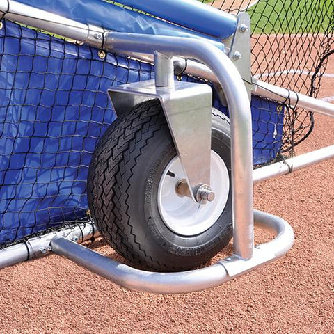 JayPro big league professional batting cage side view