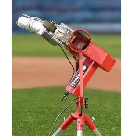 Heater Pro Real Curveball Pitching Machine With Auto Ballfeeder - Pitch Pro Direct