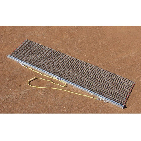 Rigid Steel Drag Mat w/ Drag Bar Attachment - Pitch Pro Direct