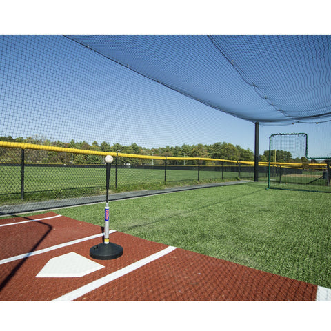 promounds pvtee batting tee in batting cage