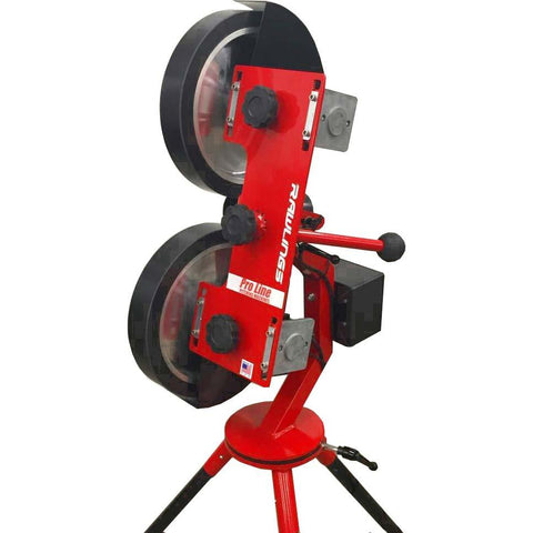 rawlings 2 wheel pitching machine rear view