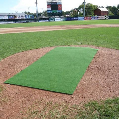 ProMounds 4' x 12' Premium Portable Green Pitching Mat - Pitch Pro Direct
