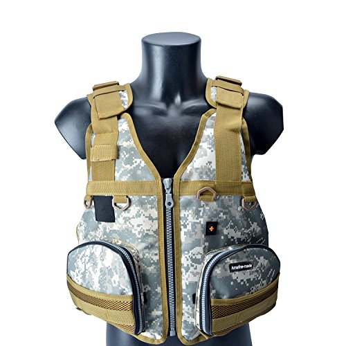 Boat Buoyancy Aid Sailing Kayak Fishing Life Jacket Vest Camouflage
