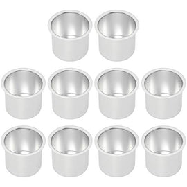 Amarine Made 10 Pack of Aluminum Drop-in Drink Cup Holder for Table,Boat,Camper