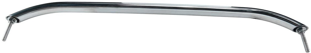 Amarine Made Polished Stainless Heavy Duty Oval Boat Marine Grab Handle Hand Rail with Flange & Stud