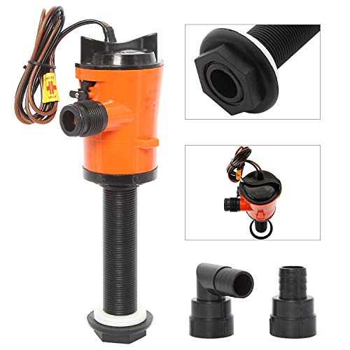 Amarine Made 12V 800GPH Livewell Baitwell Pumps Boat Submersible Bilge Pump