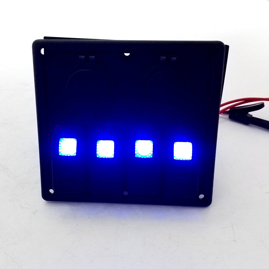 Amarine Made Blue LED Light Indicator Set