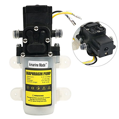 Automatic High Pressure Diaphragm Water Pump DC 12V 3.6L/min for Industry,ehicles,Agricultural,Boat
