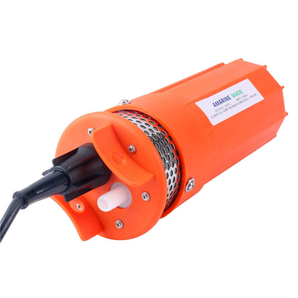 Amarine Made 24V Submersible Deep Well Water Dc Pump/Alternative Energy Solar Battery