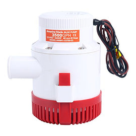 Amarine Made 3500GPH 12v Boat Marine Plumbing Electric Bilge Pumps