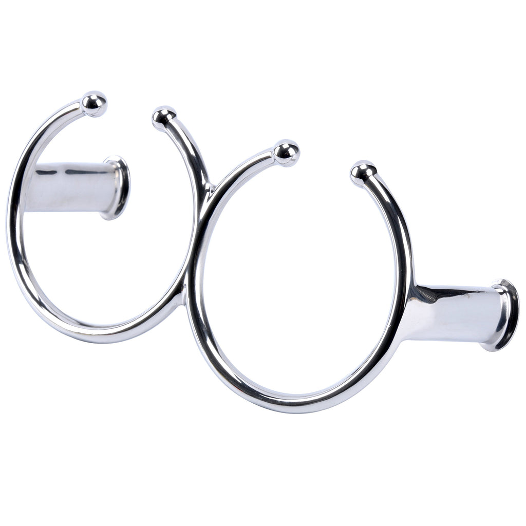 Amarine Made 316 Stainless Steel Double Ring Cup Drink Holder - Open Design